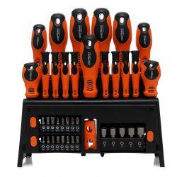 Zestaw śrubokrętów i bitów 39el. KD10900