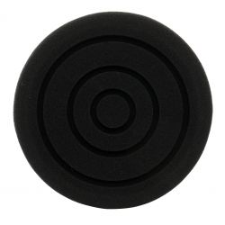 Gąbka polerska 150 mm czarna