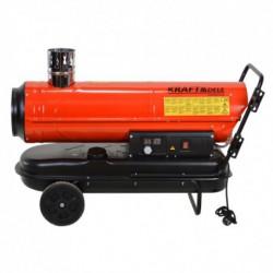 Nagrzewnica olejowa 30KW z kominem KD711