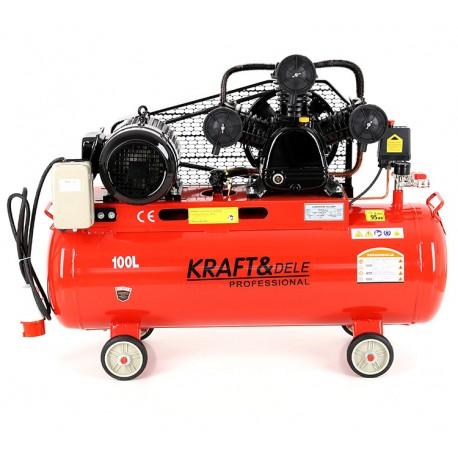 Kompresor Olejowy 100L 3 Tłoki 400V KD405