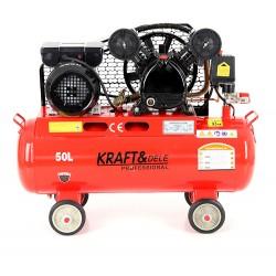Kompresor olejowy 50L 2 Tłoki KD403