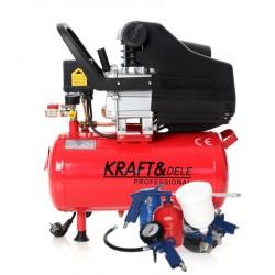 Kompresor Olejowy 24L KD400 +Zestaw