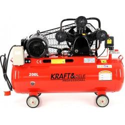 Kompresor Olejowy 200L 3 Tłoki 400V KD408