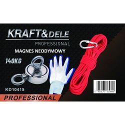 Uchwyt magnetyczny magnes neodymowy 140 kg KD10415