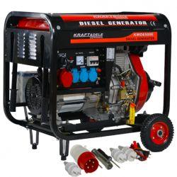 Agregat Diesel 6500W 12/230/380V KD120