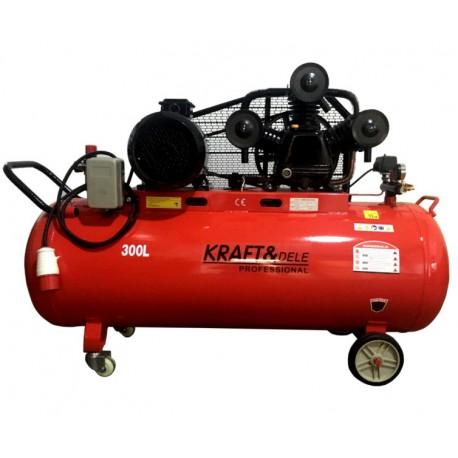 Kompresor Olejowy 300L 3tłoki KD1411 Separator