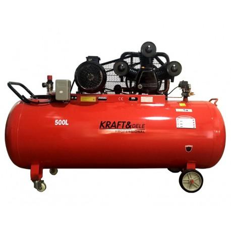 Kompresor Olejowy 500L 3tłoki KD1412 Separator