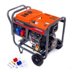 Agregat prądotwórczy Diesel 8KW 80% 230/380V KD126