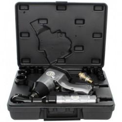 Klucz udarowy pneumatyczny zestaw KD1422 z grzechotką LX-005