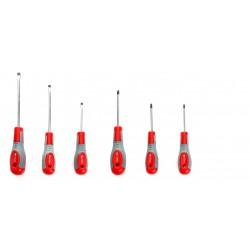 6 Częściowy Zestaw Śrubokrętów KD10218