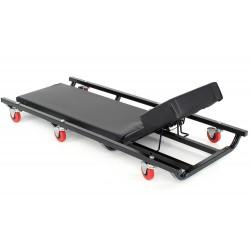Leżak warsztatowy, leżanka z regujacją KD377