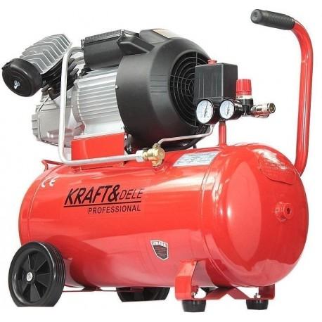 Kompresor olejowy 50L 2 tłoki KD1478