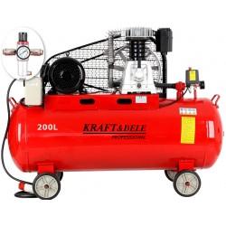 Kompresor olejowy 200L 400V KD1475 +Separator!