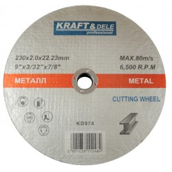 Tarcza do metalu 230x2,0x22,23mm KD974