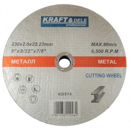 Tarcza do metalu 230x2,0x22,23mm