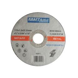 Tarcza do metalu 115x1,2x22,23 KD971