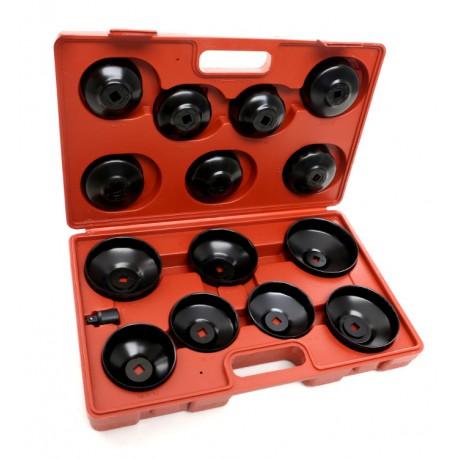 Zestaw nasadek do filtów oleju 15 szt. KD10500