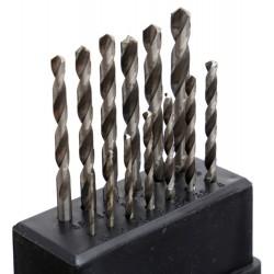 Wiertła do metalu i drewna 13szt. KD10223