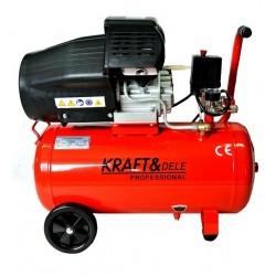 Kompresor olejowy 50L 2 Tłoki 230V KD1471