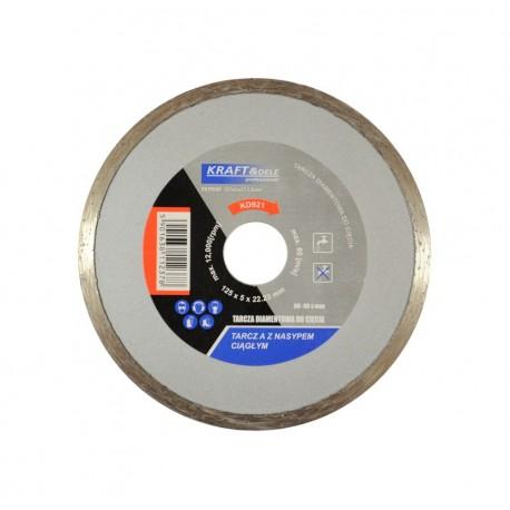 Tarcza diamentowa do cięcia 125x5x22,23 KD921