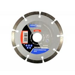 Tarcza diamentowa segmentowa do cięcia 125x7x22,23 KD924