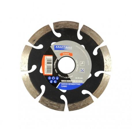 Tarcza diamentowa segmentowa do cięcia TURBO 125x7x22,23 KD926