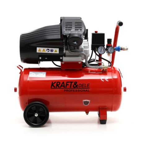 Kompresor olejowy 50L 2 Tłoki KD1479