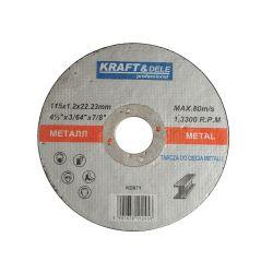 Tarcza do metalu 115x1,0x22,23 KD970