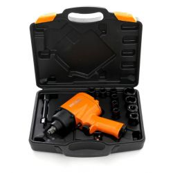Klucz udarowy pneumatyczny 1050Nm KD1425 + nasadki