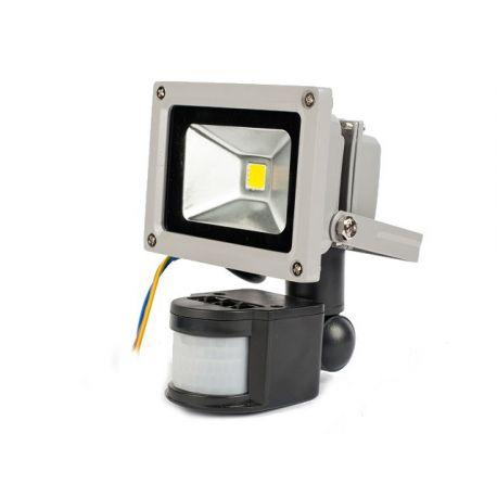 Lampa LED z czujnikiem 10W zimna KD1218B