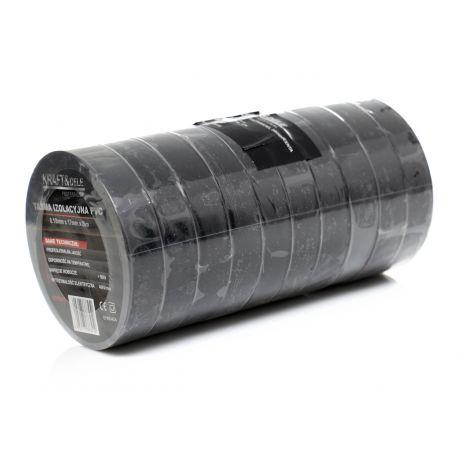 Taśma izolacyjna PVC 10szt. czarna KD10916