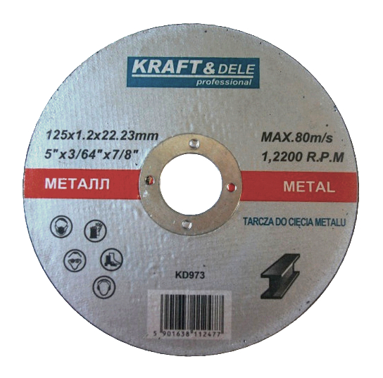 Tarcza do metalu KD973